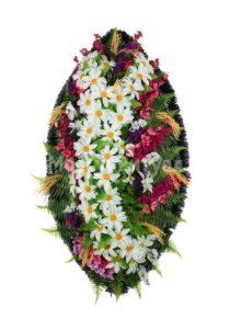 Венок ритуальный на похороны серия «стандартный» №22