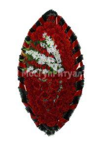 Венок ритуальный на похороны серия «заказной» №33